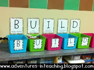 Adventures in Teaching: BUILDing the Math Workshop