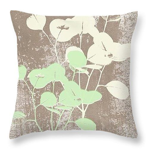 "Tranquility Throw Pillow 14"" x 14"" by @lindawoods on Fine Art America"