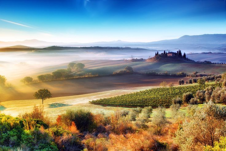 Val d'Orcia by Adnan Bubalow on 500px