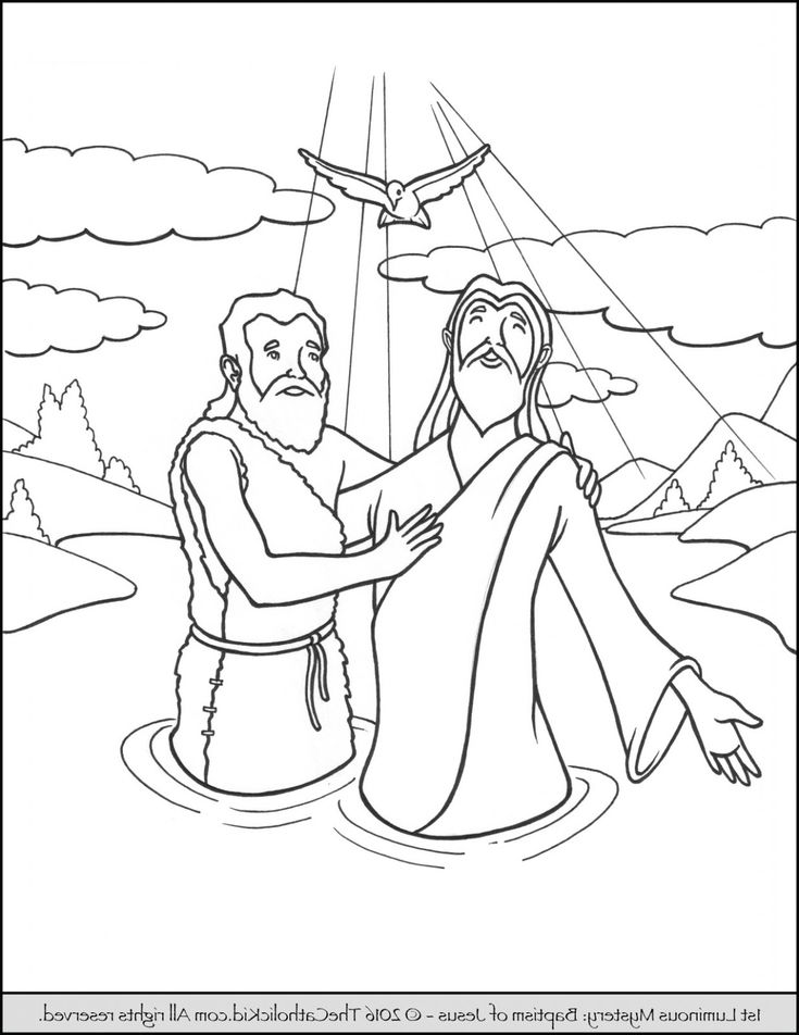 The Modern Rules Of John The Baptist Coloring Pages ...