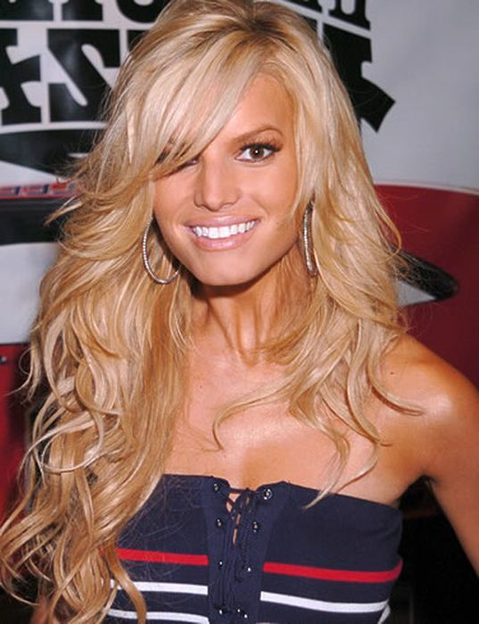 Jessica Simpson Bob Cut Hairstyles