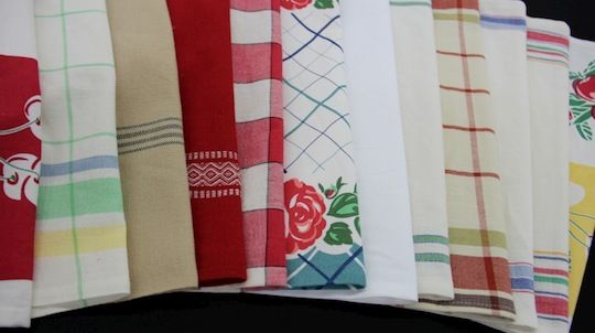 The best fabric for making your own kitchen towels and napkins
