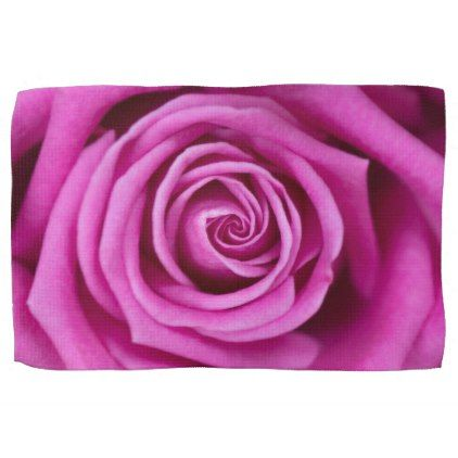 Pink Petals Towel - home gifts ideas decor special unique custom individual customized individualized