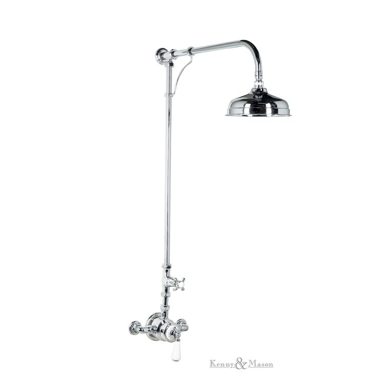 Kenny&Mason Discovery thermostatic shower. This product is available in chrome, nickel, brushed nickel, gold, polished brass and old brass finish. Artn°: NGT1012T