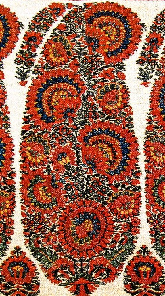 Buta on Shoulder Mantle. Kashmir Paisley Shawl. Afghan Period. Kashmir. ca. 1815 (The Kashmir Company Collectors Edition Collection)