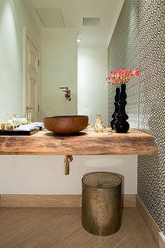 decoração de banheiros e lavabos - Pesquisa Google