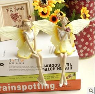 красивый цветок фея ангельские крылья главная украшения смолы ремесло украшения свадьбы