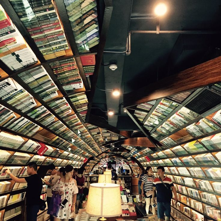 The Yangzhou Zhongshuge bookshop in China is a place where literature and design...