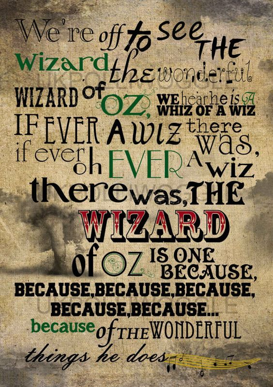 64 Best Wizard Of Oz Sayings Images On Pinterest Wizards