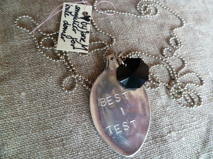 Spoon jewelery BEST I TEST. epla.no/shops/byjanem/ Facebook.com/ByJaneM/ Instagram: @byjanem
