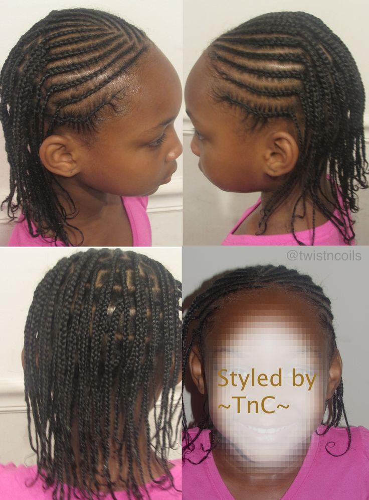 Brilliant Children Protective Style Tnc Kids Natural Hairstyles Short Hairstyles For Black Women Fulllsitofus