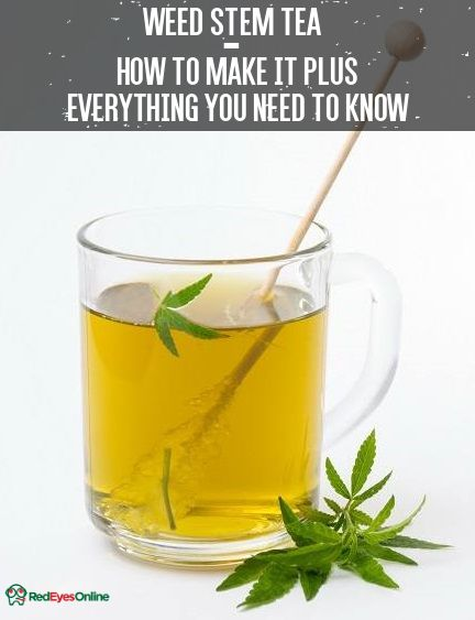 Weed Stem Tea – How To Make It Plus Everything You Need To Know From RedEyesOnline.net