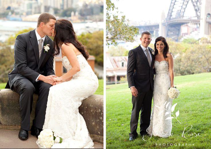 Ash & Rob @ Jessie Rose Photography #springwedding #wedding #photography #weddingphotography #jessierosephotography #bride #groom #sydney #kiss #australia #sydneyharbourbridge #observatoryhill #springwedding #spring
