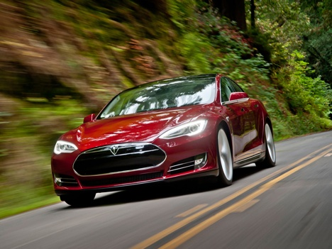 Tesla Model S is the world's first premium electric sedan. Designed from the ground up as an electric car, Model S provides an unprecedented driving range of up to 300 miles.