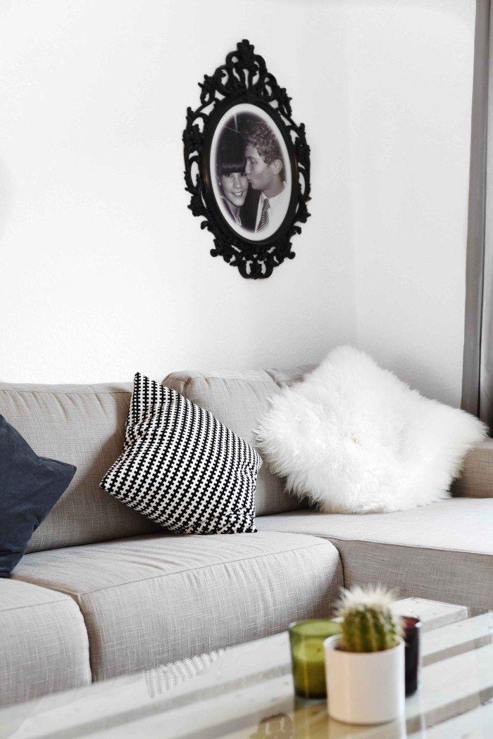 COM Sofa, Couch, Interior, Blogger Wohnung, Graues Sofa, Wohnzimmer, Grey  Sofa, Tisch Aus Europaletten, Couchtisch Europaletten | Pinterest | Eu2026