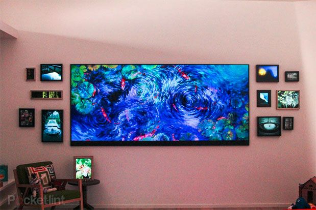 Visualized: Microsoft's homegrown 120-inch 4K television