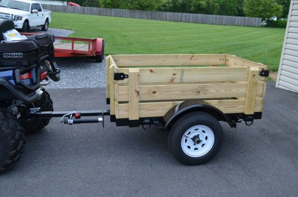 Homemade ATV trailer, check out my welding project page as well as my machining projects page for other fun project ideas. I try to add a new project every week.