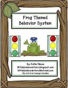 Frog theme stoplight behavior