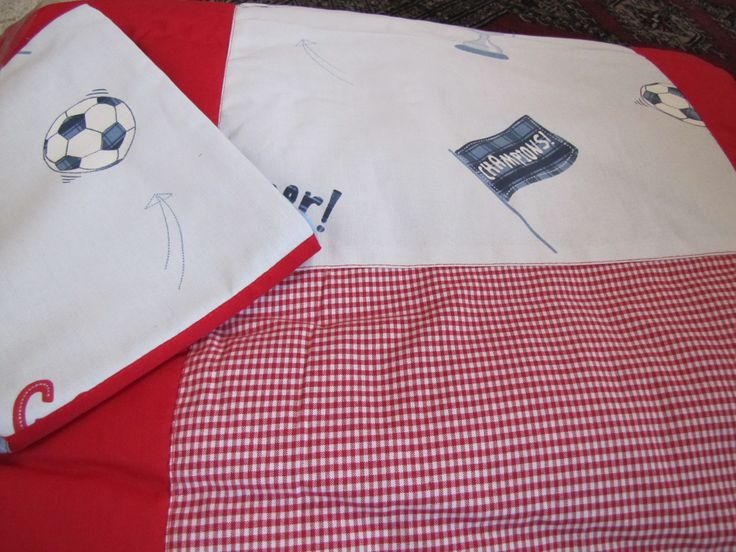 Cobertor Futbol para Niño.