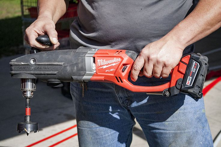 Milwaukee M18 Fuel Super Hawg 1/2-Inch Right Angle Drill
