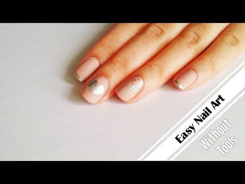 DIY Nail Art Without Tools   3 Easy Nail Designs - YouTube