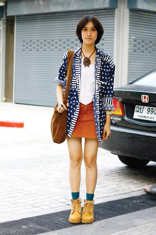 1000 Images About Thai Street Fashion On Pinterest Temples Hair And Fasion