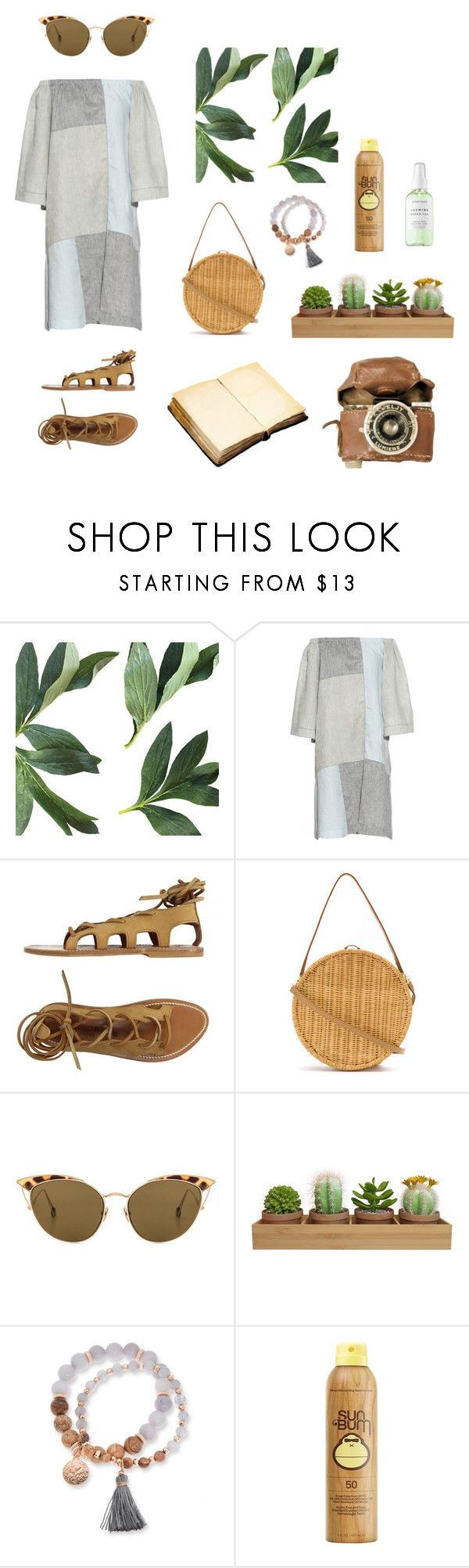 """""""Ojai"""" by stephc ❤ liked on Polyvore featuring Lisa Marie Fernandez, K. Jacques, Serpui, Ahlem, Kim Rogers, Sun Bum and Herbivore"""