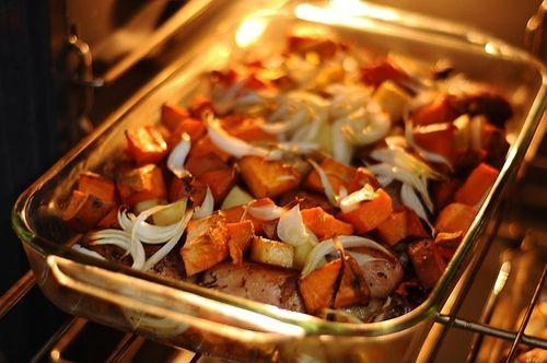 Balzsamecetes sült zöldségek - AntalVali