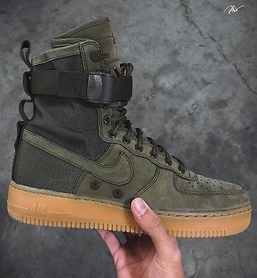 15242227197 Nike Special Field Sf Af Air Force 1 Urban utility Military Olive Size  10.5Pp280 in 2019