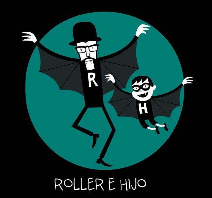 Roller e hijo