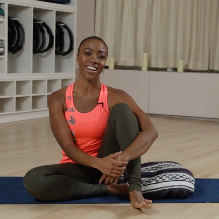 Need to unwind and de-stress? Check out this video for the calming yoga breath that will help you do it. - Shape.com