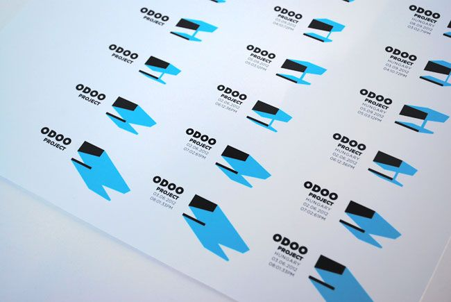 Odoo.: Odooproject Identity, Logo Design, Solar Pow House, De Logos, Branding Identity Logos Cards, Logos Design, Hidden Character, House Projects, Shadows