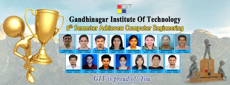 Star Students of ‪#‎GIT‬ from ‪#‎ComputerEngineering‬ Department... Gandhinagar Institute of Technology is proud of you...