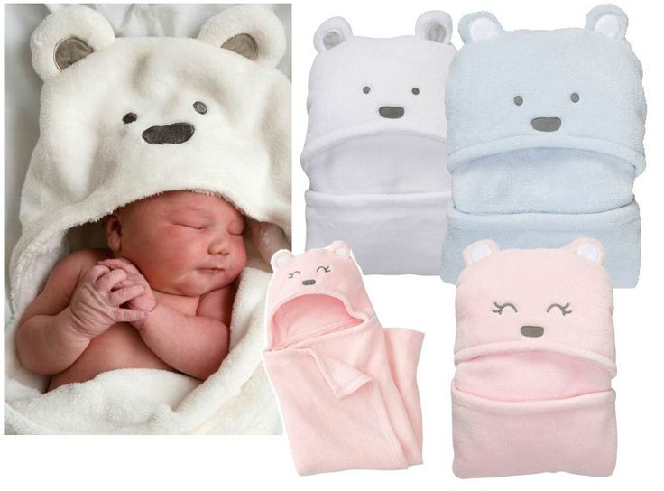 >> Click to Buy << W-39, Baby blankets, Boy&Girl polyester Coral Fleece hooded bedding, for 0-1 age, 97cm x 72cm, White/Pink/Blue colors #Affiliate