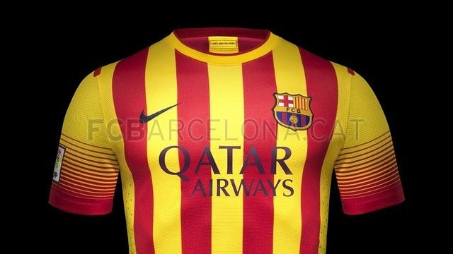 First team away kit 2013/14 | FC Barcelona