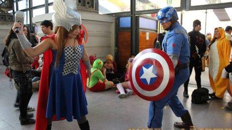 En Comicon Capitàn América, para los fanàticos del comic en Masferrer producciones  organizamos la mejor fiesta temàtica