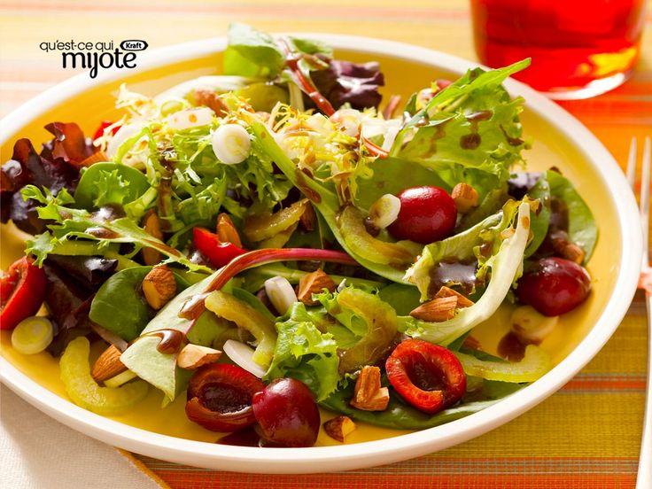 Les 134 meilleures images du tableau salades sur pinterest - Accompagnement salade verte ...