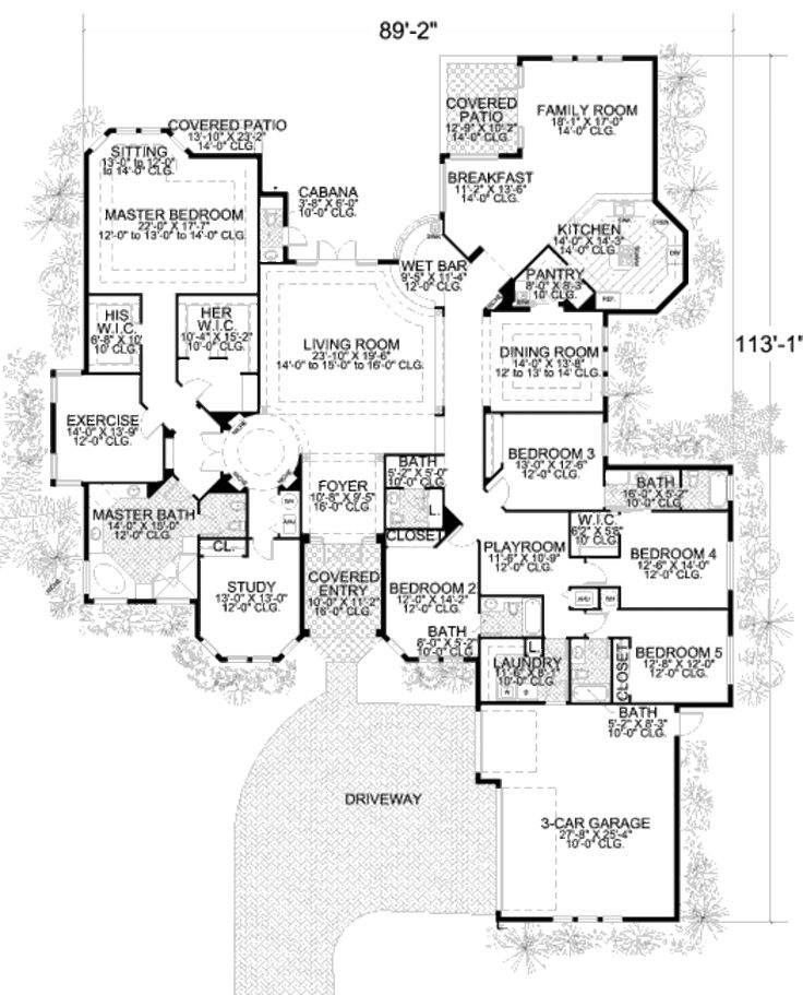 Kids Bedroom Plan 343 best home - floor plans images on pinterest | house floor