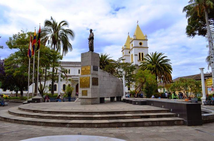 Parques turísticos de Guaranda Parque Libertador Simón Bolívar
