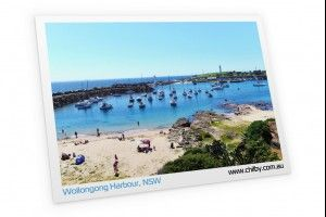 Illawarra-Wollongong-Shellharbour-Kiama postcards just $1.50 each with free delivery.  Made in Wollongong.  www.chilby.com.au