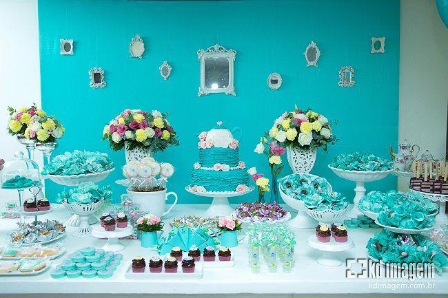 festa rosa azul e preto - Pesquisa Google