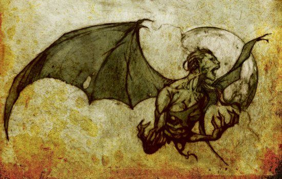 The manananggal (sometimes con...