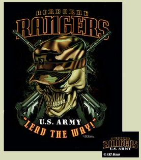 Military Insignia Army, 75th Rangers | Army Airborne Rangers T-Shirt