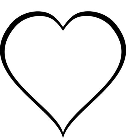 heart coloring pages simple page free printable magnificent for kids  easy coloring pages free