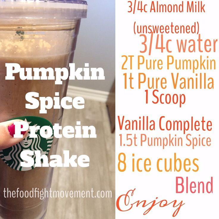 Pumpkin Spice Protein Shake THM DELICIOUS