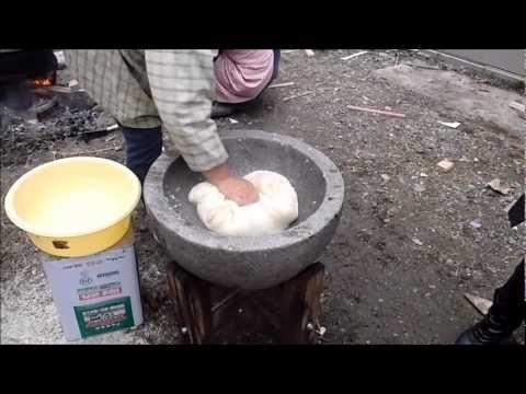 餅つき_2010年12月30日_Japanese traditional culture