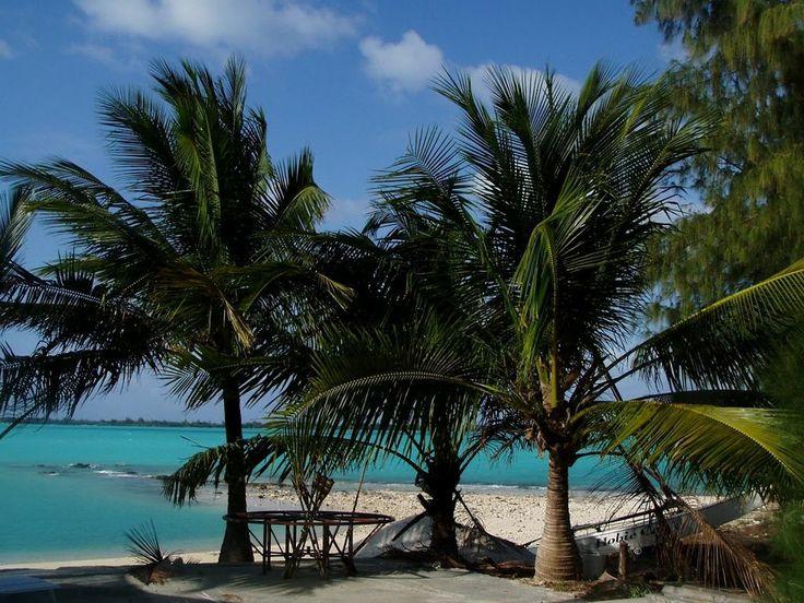 Wake Island's main lagoon ◆Wake Island - Wikipedia http://en.wikipedia.org/wiki/Wake_Island #Wake_Island