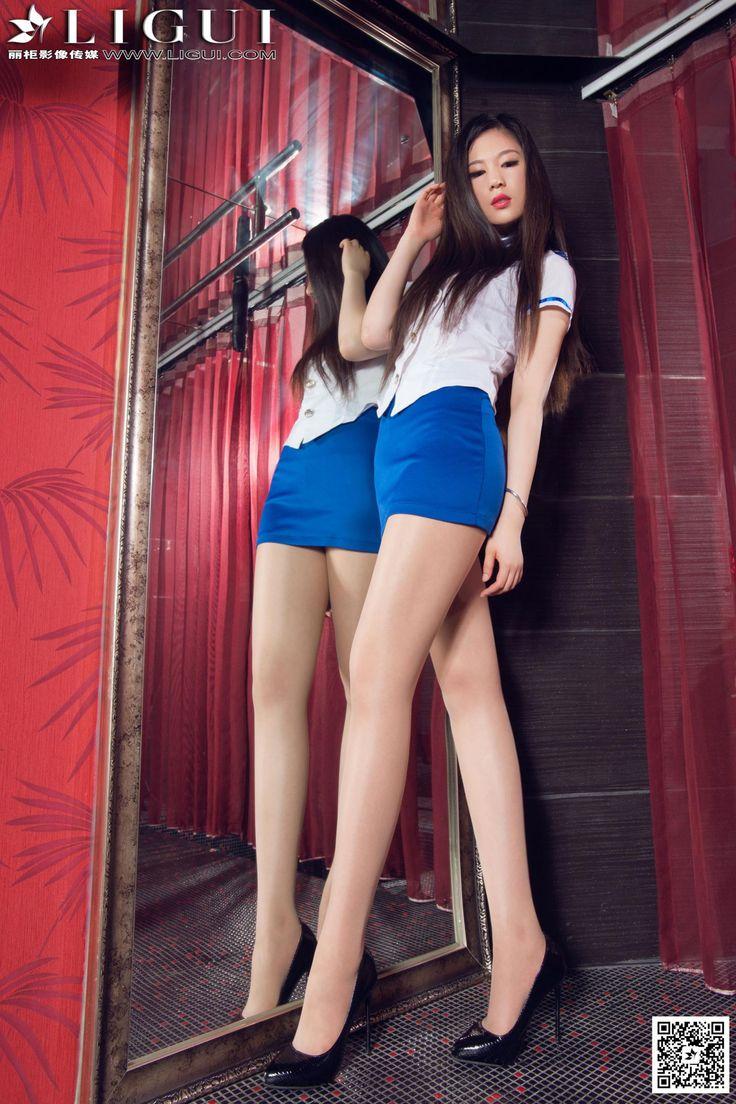 [Ligui丽柜] 佳怡 - 超短裙制服美女肉丝袜美足_第2页/第1张图