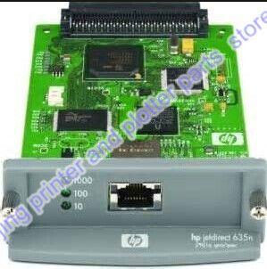 JetDirect 635N J7961G Free shipping 90% new original  Ethernet Internal Print Server Network Card and DesignJet Plotter Printer #Affiliate