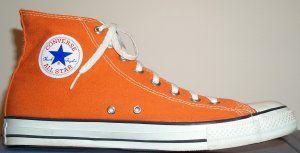 Cool.Convers Chuck Taylors, Converse 3, Stars Burnt, Convers Shoes, Orange Converse, Burnt Orange, Orange Shoes, Converse Chuck Taylors, All Stars